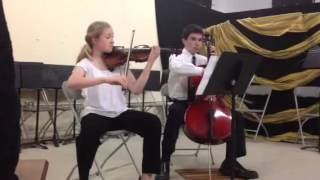 """Theme from """"Schindler's List"""" - Violin and Cello"""