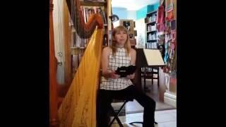 Diane Reading from Ellen the Harpist Live