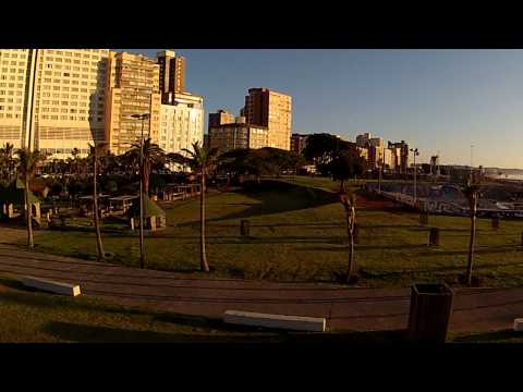 Durban Beachfront, South Africa Demo Test Flight Quadcopter with HD hero2 Sunday 24 June 2012