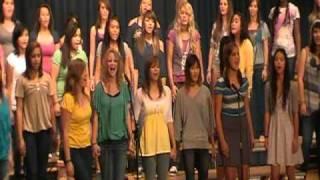 "Kadena High School Choir ""Glee"" concert - Keep Holding On"