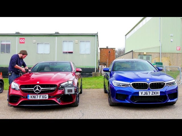 BMW M5 vs Mercedes E63 S Walkaround | Top Gear: Series 26