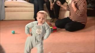Gangnam style baby dancing