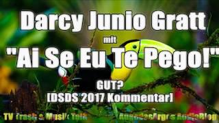 """Darcy Junior Gratt mit """"Ai Se Eu Te Pego!"""" von Michel Teló GUT? [DSDS 2017 Kommentar]"""
