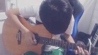 Save me ( DEAMN)  guitar fingerstye cover by Anh Huy Le
