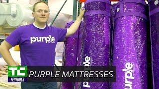 Inside Purple's massive new mattress factory