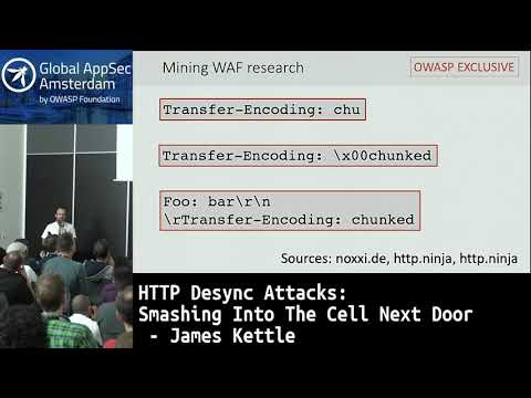HTTP Desync Attacks: Smashing Into The Cell Next Door - James Kettle
