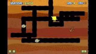 Spongebob Squarepants Sea Monster Smoosh (Спанч Боб убивает монстров) - прохождение игры