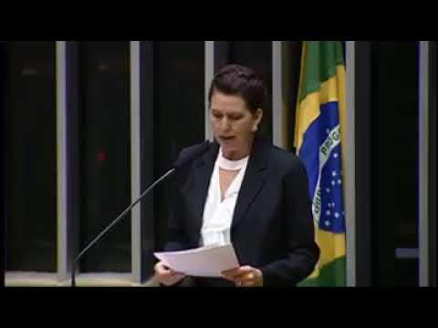 Cida Peteck. usou a tribuna da Câmara dos Deputados. em Brasília - Cidade Portal