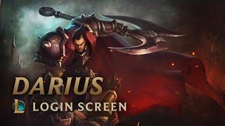 Darius, the Hand of Noxus | Login Screen - League of Legends