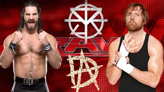 WWE Seth Rollins and Dean Ambrose Shield Reunion Theme Song
