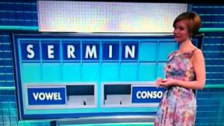 Plenty of minge on Countdown these days....