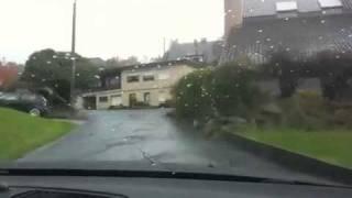Drive through German village