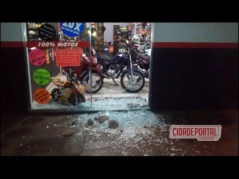Dois elementos arrombam comércio na madrugada de domingo em Moreira Sales -Cidade Portal
