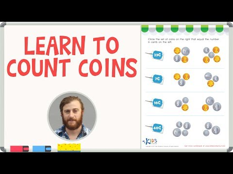 How to Count Coins - Counting Coins Worksheets