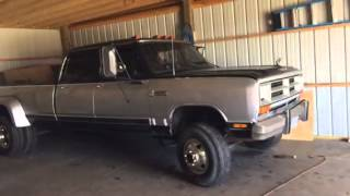 Getting the 85 crew cab cummins out of winter storage