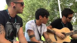 """Millenia"" acoustic by Crown The Empire"