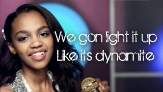 Dynamite   China McClain   Lyrics HD    A.N.T Farm