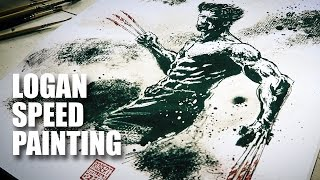 Logan Speed Painting | Mad Stuff With Rob