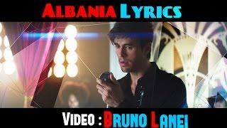 Enrique Iglesias - El Perdedor Feat. Marco Antonio Solis (Albania Lyrics) (HD)