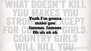 Famous Lyrics by Kelleigh Bannen