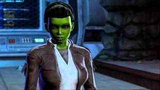 SWTOR: You can't talk with a broken jaw!