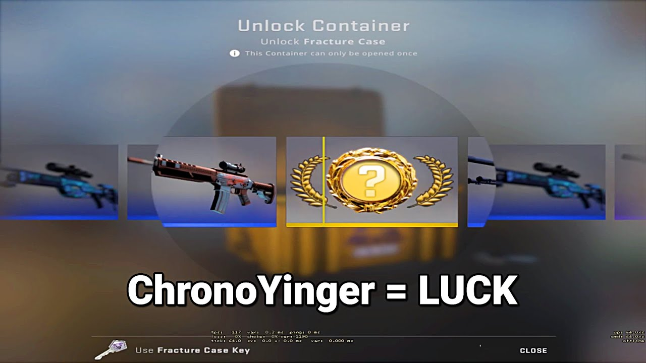 """ChronoYinger - Viewer: """"So, your videos inspired me to open some Cases..."""""""