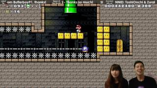Zurako's First P-Jump! 【Super Mario Maker】