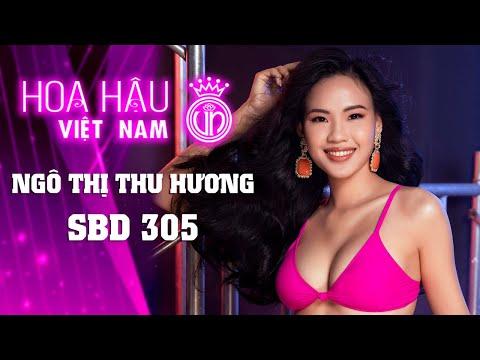 305 NGÔ THỊ THU HƯƠNG HOA HẬU VIỆT NAM 2020
