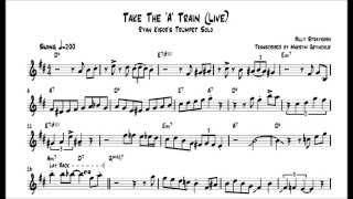 Ryan Kisor - Take The 'A' Train (Live) Trumpet Solo