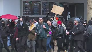 KKK cancels Portland rally; 3 protesters arrested