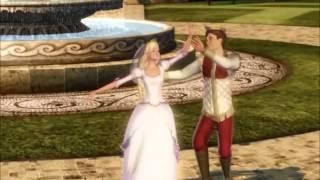 12. Barbie e as 12 Bailarinas -  Música do inicio com a dança do casamento - pt pt