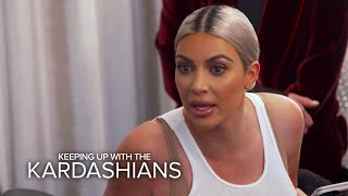 "KUWTK | Kim Kardashian to Kourt: ""You're the Least Interesting to Look At"" | E!"