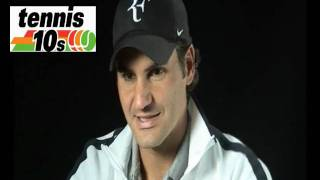 Roger Federer discusses Tennis 10s - ITF Official Video