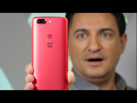 UNBOXING - OnePlus 5T Lava RED