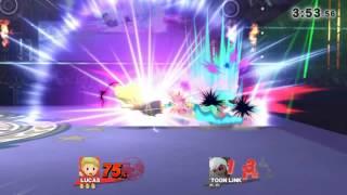 Lucas vs ToonLink!