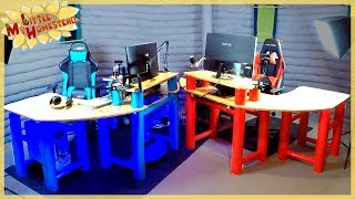 Gaming Desks Complete! Kitchen Sink Cabinet, & Outbuilding Start! | Weekly Peek Ep177