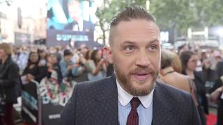Dunkirk World Premiere Interview - Tom Hardy