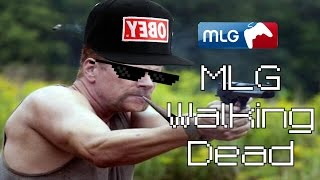 MLG The Walking Dead - Abraham vs Eugene