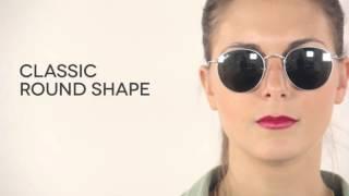 e4d3790fa63 Ray-Ban RB3447 Round Flash Lenses 019 30 Sunglasses Silver ...