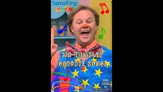Something Special - The Goodbye Song! Mr Tumble!!