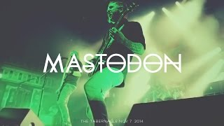 MASTODON at The Tabernacle Atlanta Nov 7, 2014 Stop-Motion