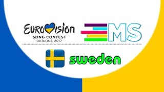 Eurovision 2017 Sweden//Melodifestivalen 2017-Final Top 5