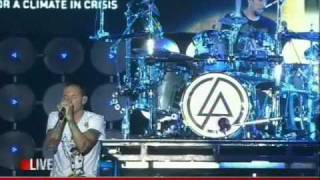 "Linkin Park ""From the Inside"" live on ""LIVE EARTH"" 2007"