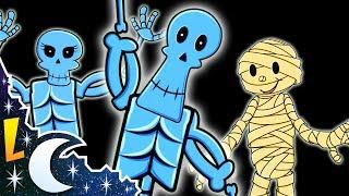 El Baile de Los Esqueletos - Canciones Infantiles - Rondas para Niños