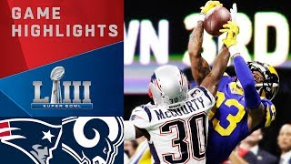 Patriots vs. Rams | Super Bowl LIII Game Highlights