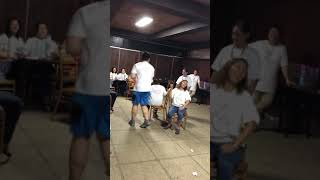 Umpisa ng Chair Dance MHSN81 1/6/18