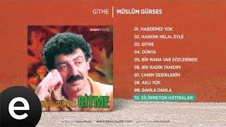 Silinmeyen Hatıralar (Müslüm Gürses) Official Audio #silinmeyenhatıralar #müslümgürses