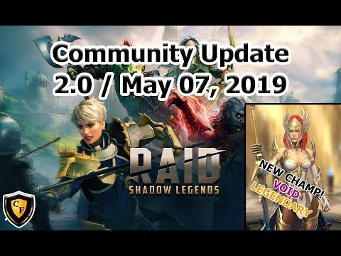 RAID: SL - Community Update 2.0 - May 07, 2019