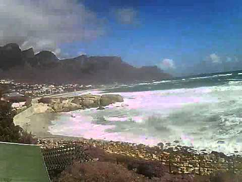 Timelapse Video – Glen Beach & Camps Bay – 23/08/2010