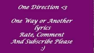 One Way Or Another - One Direction HD lyrics (720p)